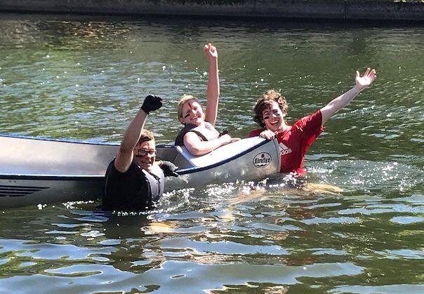 Teaterkursen – vinnare av 2018 års kanotrace!