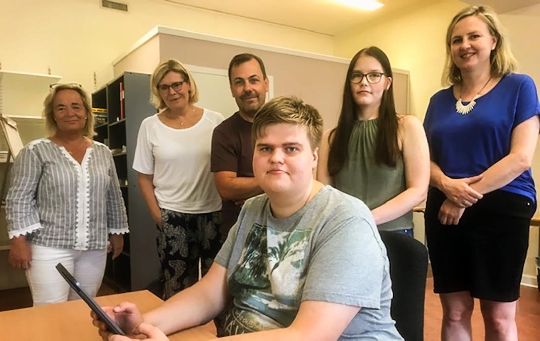 Besök från Norges utskott för autism och tourettes